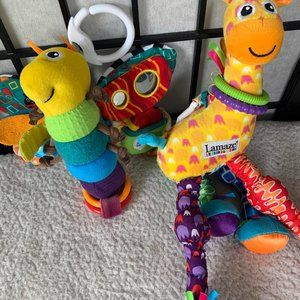 Lamaze Butterfly Giraffe Plush Toy